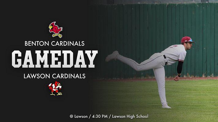 Benton Baseball – Benton Cardinals @ Lawson Cardinals