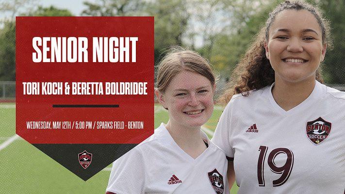 Benton Girls Soccer – 2021 Senior Night