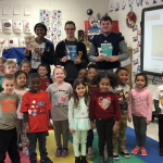 "DC Student-Athletes Participate in 1st Annual ""Tigers Read"" Program"