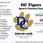 DCHS Physical Fair