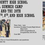 DCHS 2019 Volleyball Summer Camp