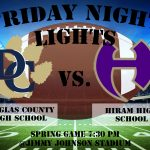 Tigers to take on Hiram in Spring Football Scrimmage on Friday