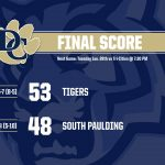 Boys Varsity Basketball beats South Paulding 53 – 48