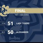 Lady Tigers Advance to Region Championship