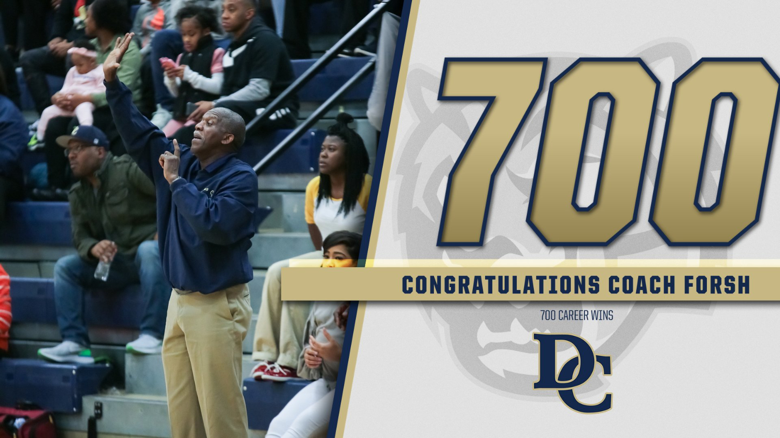 Forsh Reaches 700 Wins