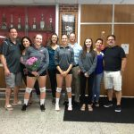 Girls Varsity Volleyball beats Fairport Harding 3 – 0
