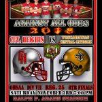 Football begins Playoffs this Saturday at HOME