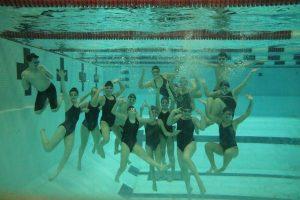 Varsity Swimming Underwater Pics