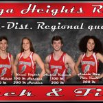 Congrats to our Regional Track Qualifiers!