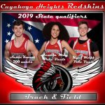 Congrats Track & Field State Qualifiers – Knaack, May & Wolff!