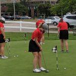 Girls Varsity Golf beats Cleveland Heights 212 – 262