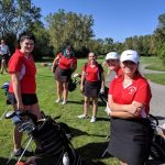 Girls Varsity Golf finishes second to Lutheran West 193 – 241