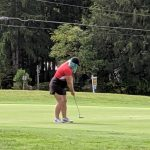 Girls Varsity Golf finishes 6th place at CVC Post-Season Tournament