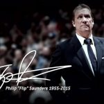 Flip Saunders Gym Dedication – Saturday, January 4th