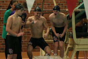 Coed Varsity swimming 12.4.19 vs Kirtland/Lawrence