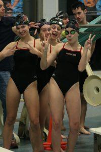 Coed Varsity swimming 12.10.19 at Bay