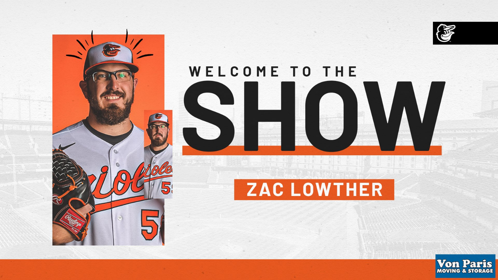 Zac Lowther makes MLB Debut!