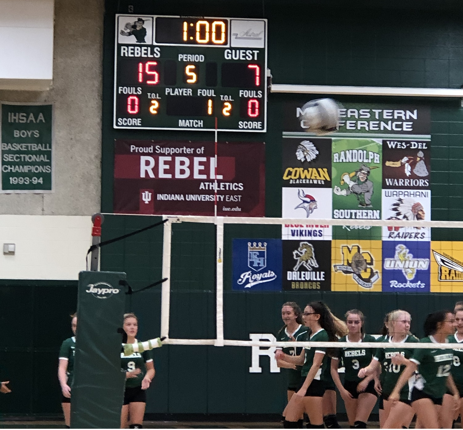 Lady Rebels Get First Win of the Season!