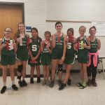 Girls Junior High Cross Country finishes 2nd place at Union County Invitational