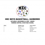 2019 MEC JAMBOREE THIS SATURDAY
