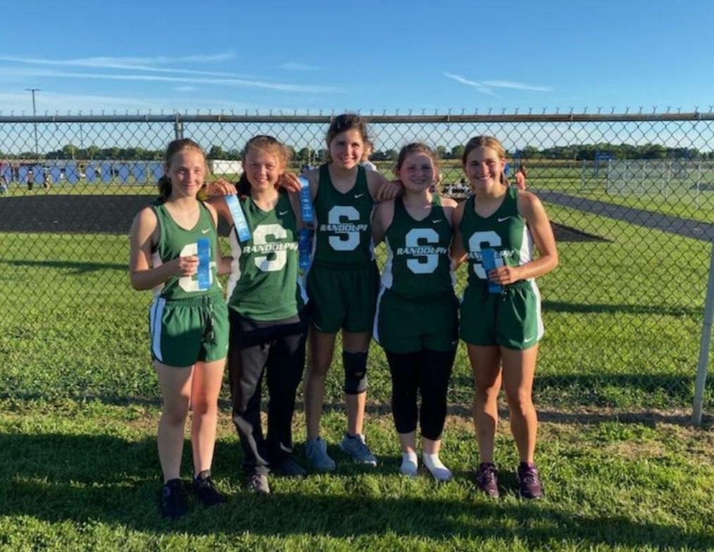 Lady Rebels Cross Country Team
