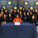 Girls' Soccer Celebrates Another Signing