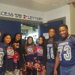 A+ Academy Cheerleaders & Football Visit A+ Elementary
