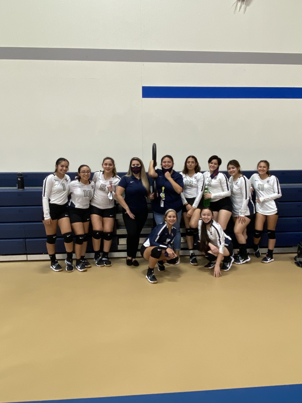 Lady Knights get the win against Inspired Vision!