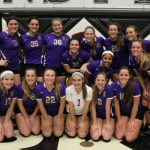 Vermilion High School Girls Varsity Volleyball beat Perkins High School 3-1