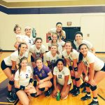 Vermilion High School Girls Varsity Volleyball beat Perkins High School 3-2