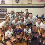 Vermilion High School Girls Varsity Volleyball beat Clyde High School 3-1