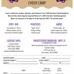 Vermilion Mini Cheer Camp