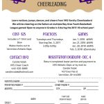 Basketball Youth Cheer Camp Announced!