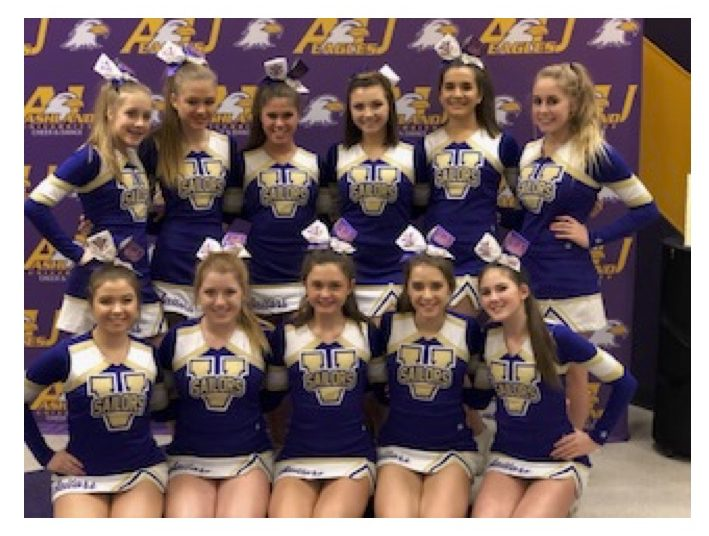 VHS Cheer Competition Team Qualifies for States!