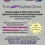 Free Inclusive Football Clinic!