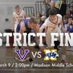 Boys Basketball Head to District Final!