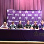 Six Sailor Seniors Sign Letters of Intent