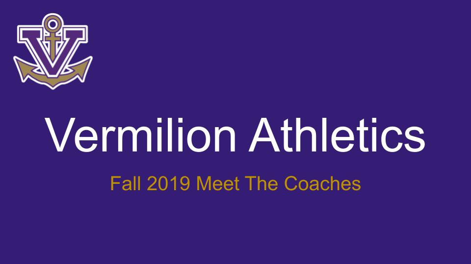 Meet the Fall Coaches