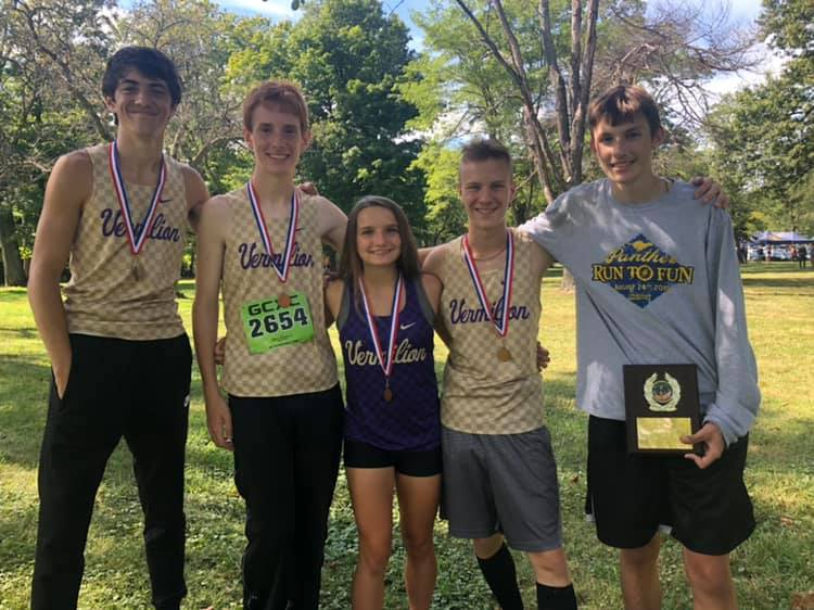 BOYS CROSS COUNTRY TEAM FINISHES 4th of 16 TEAMS