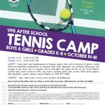 Tennis Announces Youth Camp!