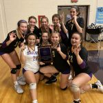 Freshmen Volleyball defeats Elyria to win Freshmen Tournament