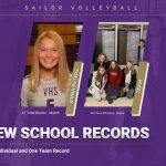 New Volleyball School Records!