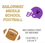 2020 Sailorway Middle School Football Conditioning Schedule