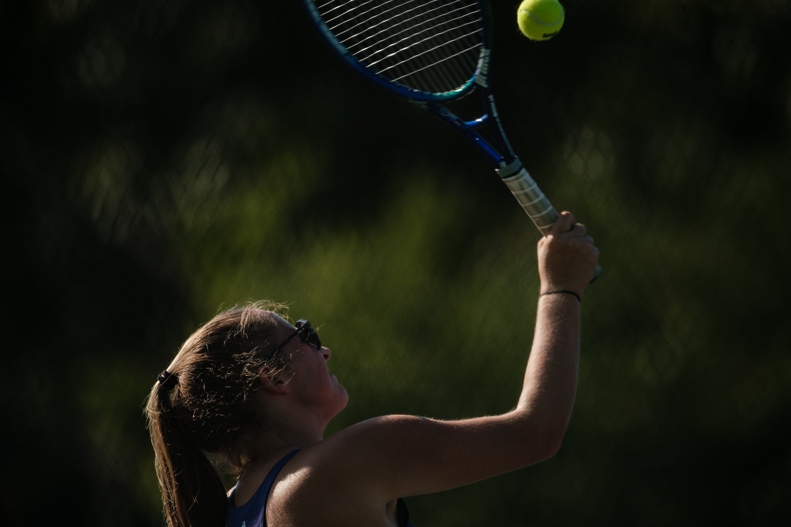 Girls Tennis vs Clyde