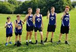 Middle School Cross Country brings home first place at Tiffin