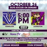 Boys Soccer Game Livestream!
