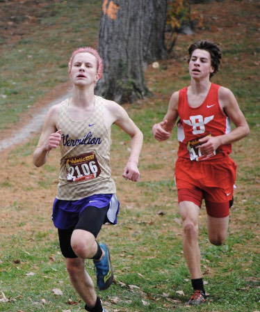 HERSHBERGER IS ALL-DISTRICT; ADVANCES TO REGIONALS