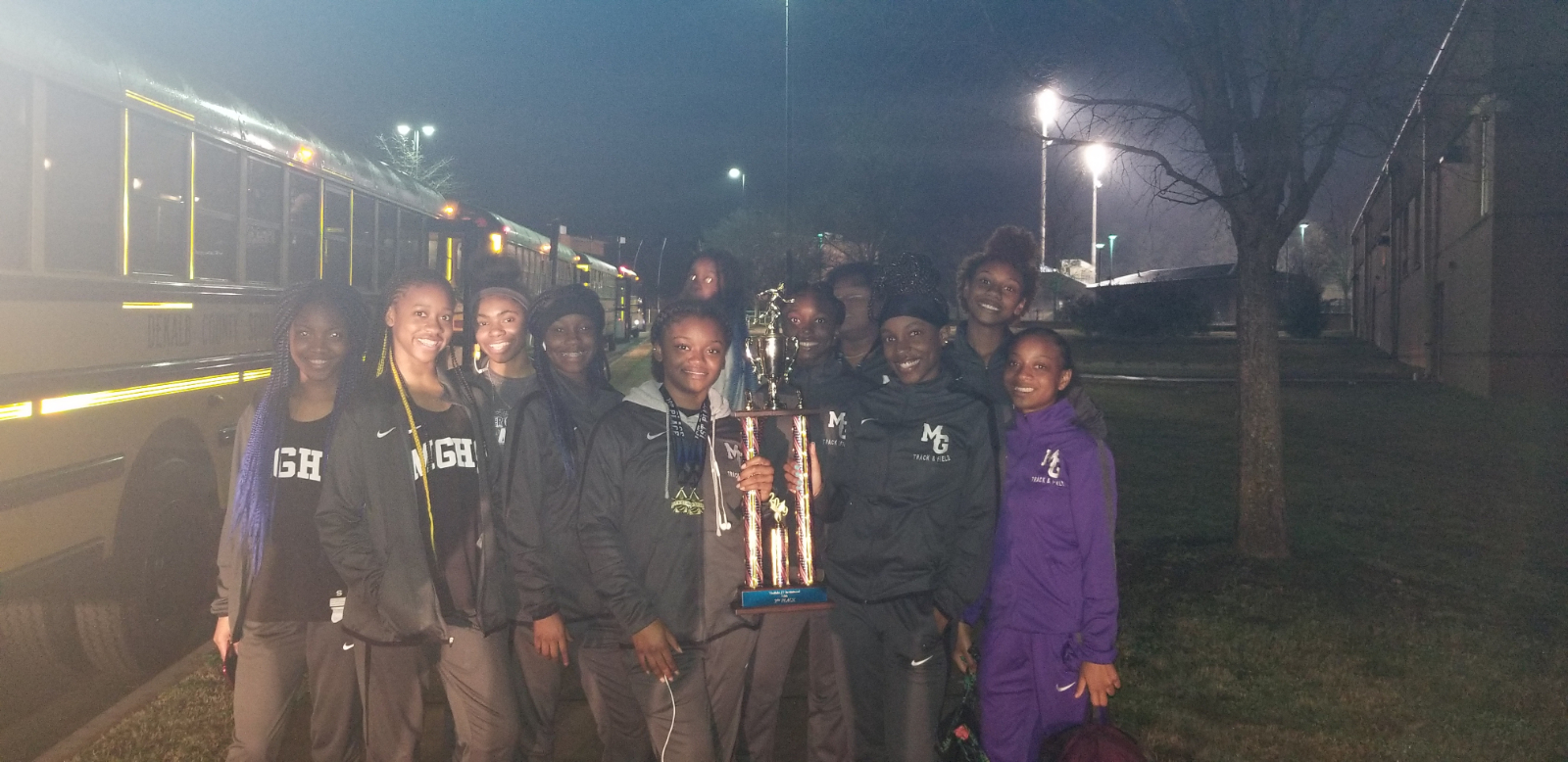 MGHS Girls Track Team Finishes 3rd Place at the 9th & 10th Grade Westlake Invitational