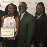 EMONI COLEMAN RECIPIENT OF THE GREATER LITHONIA CHAMBER OF COMMERCE (GLCC) SCHOLARSHIP