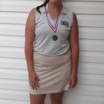 Girls' Golf Team in Elwood Invitational